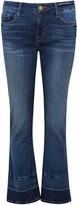 Frame Le Crop Mini Boot Blue Jeans