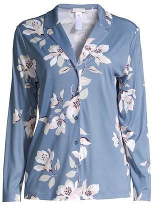 Hanro Lisha Floral Pajama Top