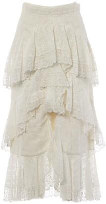 Erdem White Cotton Skirts