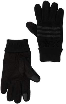 Levi's Suede Glove with Knit Piercing