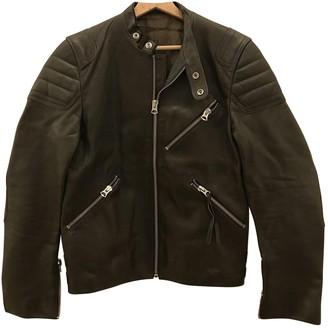 Acne Studios \N Khaki Leather Jackets