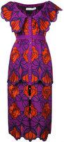 Alice McCall flower midi dress - women - Cotton/Polyester - 40