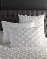 Vince European Puckered Diamond Sham