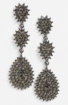Tasha Crystal Teardrop Earrings