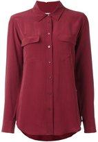Equipment slim signature shirt - women - Silk - M
