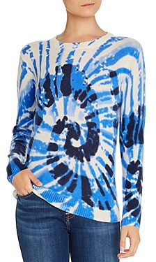 Bloomingdale's C by Spiral Tie-Dye Cashmere Sweater - 100% Exclusive