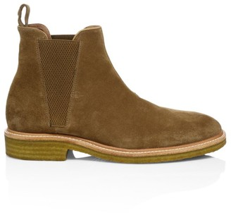 John Varvatos Star USA Leroy Suede Chelsea Boots