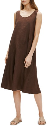 Eileen Fisher Sleeveless Linen Dress