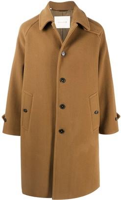 MACKINTOSH Blackford wool blend overcoat