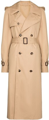Wardrobe NYC Belted Double-Breasted Trench Coat