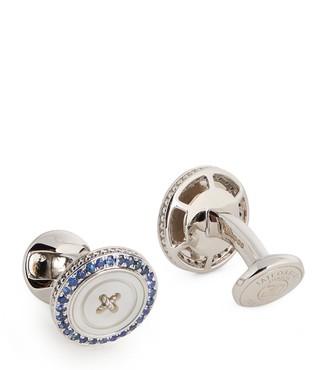 Tateossian Button Cufflinks