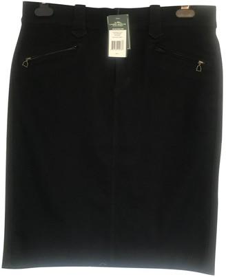 Lauren Ralph Lauren Navy Cotton - elasthane Skirt for Women