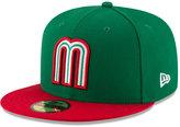 New Era Mexico 2017 World Baseball Classic 59FIFTY Cap