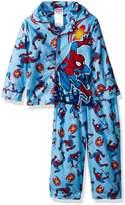 Marvel Toddler Boys' Spiderman 2-Piece Pajama Coat Set