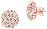Lord & Taylor Cubic Zirconia Circular Earrings