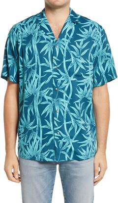Reyn Spooner Kuhio Tropical Short Sleeve Button-Up Camp Shirt