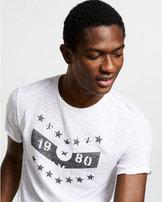 Express chevron stars new york graphic t-shirt