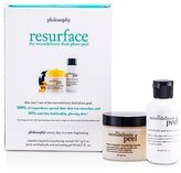 philosophy The Microdelivery Peel: Lactic/Salicylic Acid Activation Gel + Vitamin C Resurfacing Crystal - 2pcs
