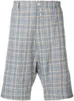 Vivienne Westwood checked bermuda shorts