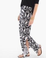 Chico's Bi-Color Scrolls Maxi Skirt