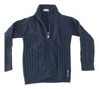 Christian Dior Black Wool Knitwear