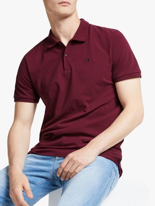 Scotch & Soda Garment Short Sleeve Pique Polo Shirt