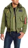Alpha Industries Men's B-15 Air Frame Flight Jacket