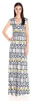 Rachel Pally Women's Long Sleeveless Caftan Printed