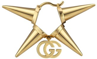 Gucci 18kt yellow gold GG Running single earring
