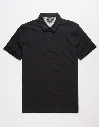 Volcom Wowzer Black Mens Polo Shirt