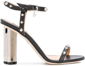 DSQUARED2 Studded High Heel Sandals