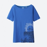 Uniqlo WOMEN Moomin Short Sleeve Graphic T-Shirt
