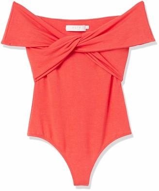 ASTR the Label Women's Off The Shoulder Tristyn Knot Bodysuit