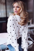 Anne Louise Boutique Polka Dot Dreams Blouse