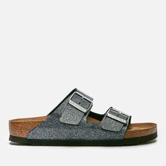 Birkenstock Women's Arizona Slim Fit Double Strap Sandals - Cosmic Sparkle Anthracite