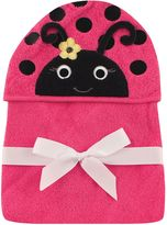 Baby Vision Hudson Baby® Ladybug Hooded Towel in Pink