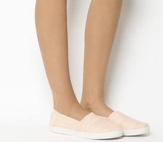 Toms Avalon Sneakers Bloom Slubby Cotton