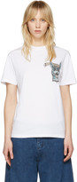 McQ by Alexander McQueen White bring Me The Head Of The Bunny T-shirt
