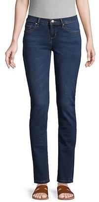 Karl Lagerfeld Paris Straight-Leg Jeans
