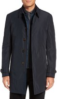 Ted Baker Men's 'Huston' Wool Blend Rain Coat