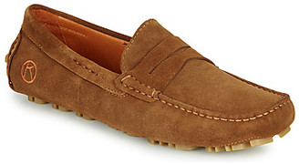 Kdopa DAVE men's Loafers / Casual Shoes in Brown