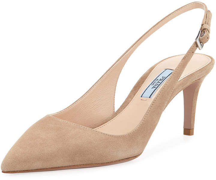 Slingback Pointed Suede Slingback Pumps Pumps Suede Pointed Suede 80wmNvn