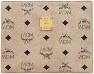 MCM Zip Pouch in Visetos Original