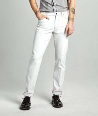 Todd Snyder Slim Fit Stretch Jean in White Wash