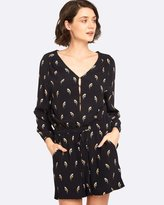 Oxford Finley Bird Print Jumpsuit