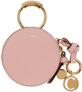 Chloé Pink Mini Round Coin Pouch