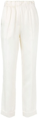 Helmut Lang Pull-On Suit Pants
