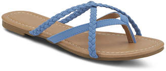 MIXIT Mixit Womens Strappy Thong Flip-Flops