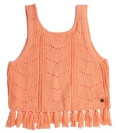 Roxy Girl's Set Them Free Knit Tassel Tank