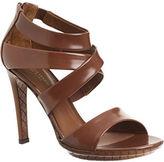 Multi Strap Sandal - Brown